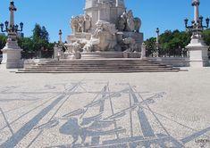 Calçada Portuguesa, Praça do Marquês de Pombal, Lisboa