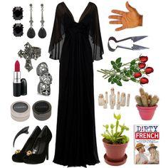 Crafty Lady Abby - COSTUME: Morticia Addams