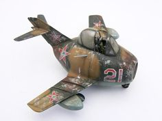 Abandoned Egg MiG-15, full WIP!