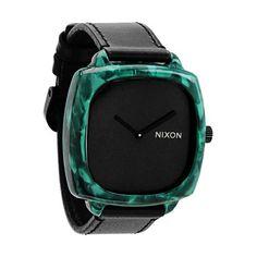 Nixon Shutter Emerald Acetate Unisex Watch A1671054