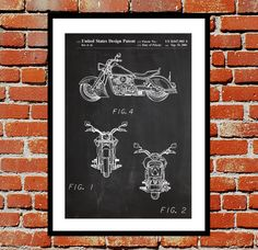 Kawasaki Motorcycle Patent, Kawasaki Motorcycle Poster, Motorcycle Print, Motorcycle Art, Motorcycle Decor, Motorcycle Blueprint by STANLEYprintHOUSE  1.00 USD  This poster is printed using high quality archival inks, and will be of museum quality. Any of these posters will make a great affordable gift, or tie any room together.  Please choose between different sizes and colors.  These posters are shipped in mailing tubes via USPS First Clas ..  https://www.etsy.com/ca/listing/2490..
