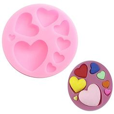 Beautiful Silicone Heart Love Shape Fondant Mold Mould 3D Cake Decoration shopping -- More info could be found at the image url. (This is an affiliate link) #BakewareSet