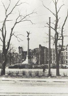Berlin Mehringplatz - Sommer 1945