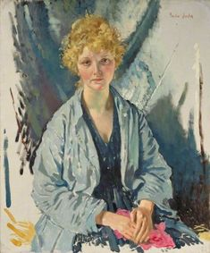 """The Refugee"" (A) by Sir William Orpen. Imperial War Museums."