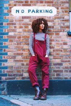 'The Original' Corduroy Dungarees in Maroon by Lucy and Yak. 'The Original' Dungarees are 100%...