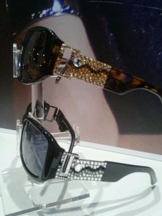 fc61f0806a Love the sparkly sunwear from jimmy crystal at the A  amp  A booth   visionexpo