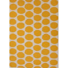 @Overstock.com - Handmade Flat Weave Geometric Pattern Yellow Rug (8' x 10') - This contemporary flat-weave rug features a playful design that showcases an eye-catching yellow geometric pattern. Crafted from 100 percent wool for superior durability, this rug makes an excellent decorative accent for a range of rooms and styles.  http://www.overstock.com/Home-Garden/Handmade-Flat-Weave-Geometric-Pattern-Yellow-Rug-8-x-10/8177244/product.html?CID=214117 $296.64