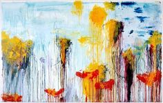 Cy Twombly (American, 1928–2011): Lepanto, 2001. Panel 7 of 12. Acrylic, wax crayon and graphite on canvas; 85-1/2 × 134 inches (217.2 × 340.4 cm). Gagosian Gallery, New York, NY, USA. © Cy Twombly Foundation. ©  -   'Lepanto, one painting in twelve parts was first exhibited at the XLIX Venice Biennale in the summer of 2001. This suite of paintings depicts the famous sixteenth century sea battle of the combined European forces under Venetian leadership against the Ottoman invasion. The…
