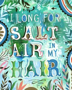 Salt Air Quote by Katie Daisy