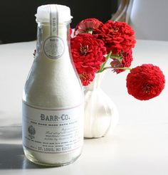 Simply stunning antique apothecary packaging courtesy of our newest line, Barr Co...perfect for sensitive skin!