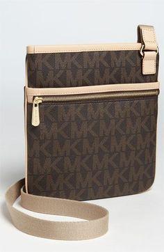 0eae78537bd0e Michael Kors  Signature  Crossbody Bag