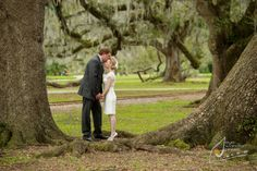 New Orleans Wedding Photography   New Orleans City Park   Intimate Weddings   Jessica & Thomas