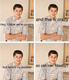 I think this every time I hear that song.  <3 arrested development