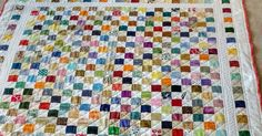 Several months ago (January this year actually) I did a 2 inch postage stamp quilt that I really liked- such a great way to use up those scr...