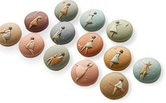 ~Eva Thissen's polymer clay beads are amazing in the detail she's able to show in the beads.   PCDaily