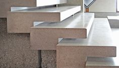 Olivetti store by Carlo Scarpa at Piazza San Marco, Venice, Italy; stair detail