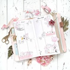 """Maky Lab Planner Corner  su Instagram: """"È in arrivo una nuova settimana nei toni del rosa e ricomincio la dieta per la terza volta, questa volta però mi ci metto d'impegno! Vi…"""""""