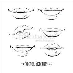 Vector Art : Lips.