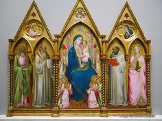 Agnolo Gaddi, Madonna and Child, National Gallery of Art in Washington DC