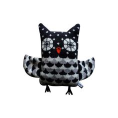 Lambswool OWL by SallyNencini on Etsy