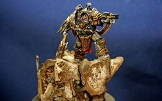 Painting Forgeworld Perturabo Primarch of Iron Warriors Part 2