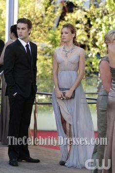 Gossip Girl Juliet Chic Chiffon Prom Dress Evening Gown - TheCelebrityDresses