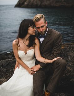 Carefree Elopement at Cape Spear Lighthouse | Images by Jennifer Moher and Hugh Whitaker
