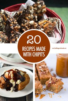 20 Recipes Made with Hershey's Chipits | Food Bloggers of Canada  Hershey's Chipits are a staple in any baking pantry but if you need a little inspiration on what to make with them then we have got 20 decadent and sweet recipes made with CHIPITS!  #chipits #hersheys #hersheychipits #FoodBloggersofCanada via @fbcanada Holiday Cookie Recipes, Holiday Cookies, Christmas Recipes, Hershey Recipes, Italian Biscuits, Incredible Recipes, Winter Food, Winter Holiday, Most Popular Recipes