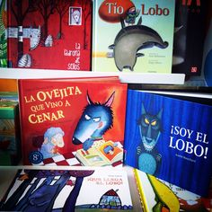 Lobos buenos, lobos malos, lobos que tienen pesadillas, lobos que ya no están...   #loslobosnosonloqueparecen Conte, Wolf, The Unit, Activities, Study, Art, Children's Literature, Livros, Sentences