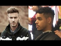 How I Cut My Hair | Mens Undercut HairStyle (For Short Mixed Curly Wavy Hair) - YouTube