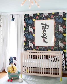 Created by our featured designer Stacie Bloomfield the talent behind Gingiber - this print is a perfect for your kiddos rooms!