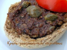 Πάστα (άλειμμα) ελιάς Dips, Beef, Breakfast, Food, Meat, Morning Coffee, Sauces, Essen, Dip
