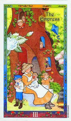 The Empress - Whimsical Tarot