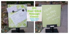 My Love 2 Create-DIY dual sided message center