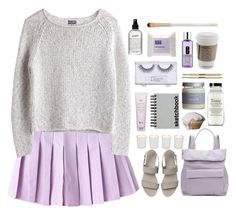 """subdued lavender"" by joyluv123 ❤ liked on Polyvore featuring Whistles, Paperchase, Sonia Kashuk, philosophy, Common Good, Clinique, Eve Lom, MTWTFSS Weekday and Witchery"