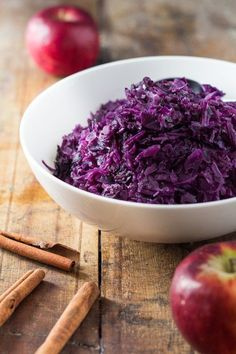 a recipe for braised red cabbage and apple the most perfect christmas side dish ever - Christmas Side Dishes Pinterest