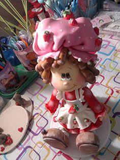 *SORRY, no confirmation given as to product used ~ Moranguinho em modelinho diferenteee! by Rafa Pereira, via Flickr