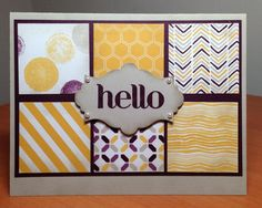 Moonlight Color Blocking by MaryLisaK - Cards and Paper Crafts at Splitcoaststampers