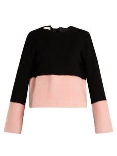 Open-back cashmere sweater | Marni | MATCHESFASHION.COM UK