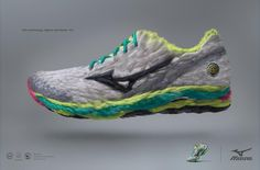 Mizuno: Feathers Headline and copy text (in