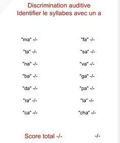 Les didapages pour travailler les sons France, Nom Nom, San, Math Equations, French