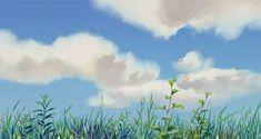 Image de anime, gif, and sky Aesthetic Gif, Aesthetic Pictures, Aesthetic Wallpapers, Katsura Kotonoha, Anim Gif, Sky Gif, Casa Anime, Gif Background, Images Disney