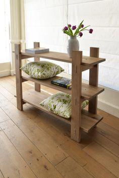 Shop solid wood Loft book shelves online now Book Shelves, Small Bedrooms, Solid Wood Furniture, Loft, Storage, Shop, Home Decor, Shelving Units, Lofts