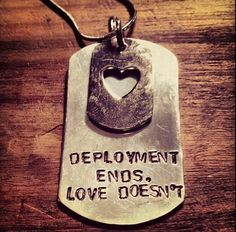 Deployment ends.  Love doesn't.