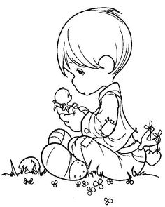 precious moments angels coloring pages | Precious Moments Angel Boy Coloring Pages Moments boy coloring pages