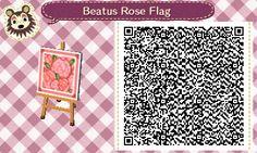 Beatus Rose Flag | QRCrossing.com
