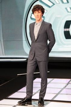 seriously does anyone else look that good in a suit? NO! good you're gorgeous