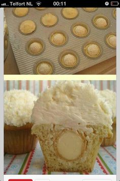Rafaello cupcake
