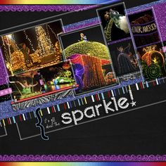 Main Street / Disney's Electrical Parade - Page 2 - MouseScrappers.com  right