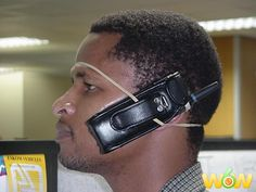 New meaning to hands free headset